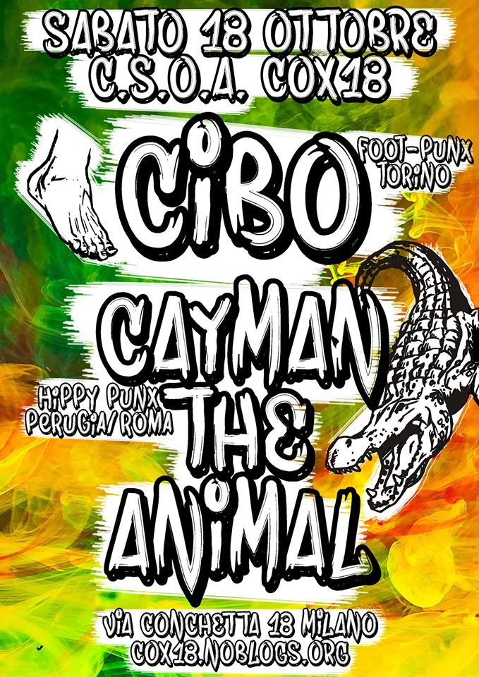 Flyer 18.10.14 CiboCayman The Animal
